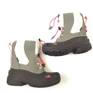 The North Face Alpenglow II pink gray Size 4